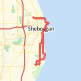Sheboygan Bike Trails - Maps of Bike Routes in Sheboygan, WI