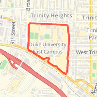 Under Armour Campus Map.Duke East Campus Wall Loop In Durham Nc United States Mapmyrun
