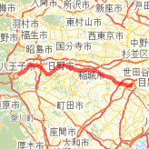 Rode 77.43 km on 2016/10/11