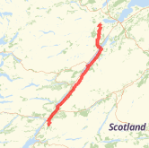 Fort Williams Scotland Map.Fort William Cycling Routes The Best Cycling Routes In Fort