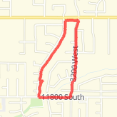 Walked 1.37 mi on 04/11/18