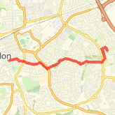 Walked 2.85 mi on 15/04/2018