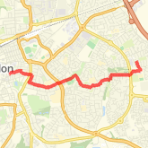 Walked 3.02 mi on 15/04/2018