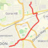 Walked 1.83 mi on 16/04/2018