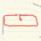 Walked 0.46 mi on 5/7/13