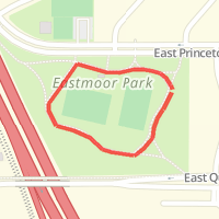 Eastmoor Park Circle in Denver, CO, United States | MapMyWalk