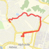Ran 12.21 km on 07/16/18