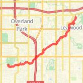 Lenexa Kansas Map.Lenexa Bike Trails Maps Of Bike Routes In Lenexa Ks