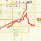 Sioux Falls Bike Trails - Maps of Bike Routes in Sioux Falls, SD on bakersfield bike trail map, albuquerque bike trail map, ogden bike trail map, eagan bike trail map, albany bike trail map, brown county bike trail map, tampa bike trail map, brookings bike trail map, cincinnati bike trail map, black hills bike trail map, plano bike trail map, little rock bike trail map, farmington bike trail map, salem bike trail map, atlanta bike trail map, casper bike trail map, arvada bike trail map, bozeman bike trail map, wausau bike trail map, marquette bike trail map,