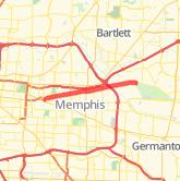 Memphis Bike Trails Maps Of Bike Routes In Memphis Tn
