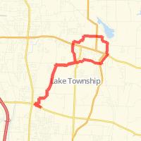Rode 14.26 mi on 09/10/2013