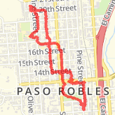 Paso Robles Walking Routes - The best walking routes in Paso ... on visalia downtown map, san bernardino downtown map, fremont downtown map, morgan hill downtown map, carlsbad downtown map, stockton downtown map, bakersfield downtown map, riverside downtown map, laguna beach downtown map, olympia downtown map, fresno downtown map, santa ana downtown map, burbank downtown map, lompoc downtown map, walla walla downtown map, healdsburg downtown map, buena park downtown map, temecula downtown map, monterey downtown map, san clemente downtown map,