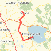 Cortona Cycling Routes - The best cycling routes in Cortona, Tuscany