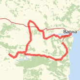 Rode 185,11 km on 14.12.2014