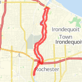 A 11.84 mile Mountain Bike Ride in Rochester on Dec 14, 2011 at 01:35 pm