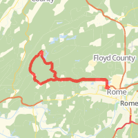 fouche gap loop in rome ga united states mapmyfitness