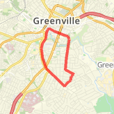 Greenville Running Routes - 8,270 Running Trails in ... on map haywood mall sc, map downtown harrisburg pa, map downtown detroit mi, map of city of columbia mo, map downtown kalamazoo mi, map downtown greensboro nc, map mo columbia missouri, map downtown reno nv, map downtown colorado springs co, map downtown peoria il, map downtown augusta ga, map downtown pensacola fl, map downtown birmingham al, map of greenville south carolina area, map downtown lynchburg va, map downtown baton rouge la, map downtown sarasota fl, map downtown jacksonville nc, map downtown san francisco ca, map downtown sacramento ca,